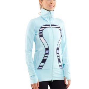 Lululemon In Stride Jacket Aquamarine size 6